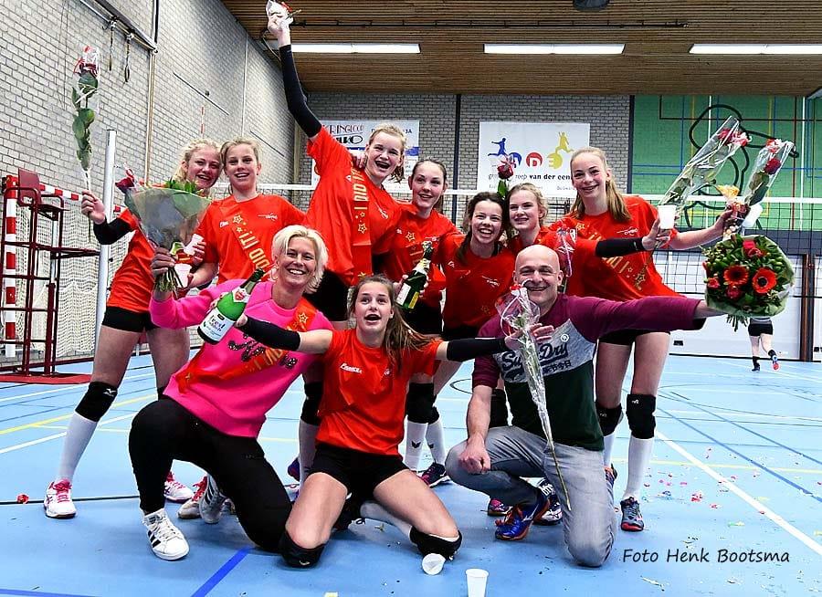 Mear feest by Covos: ek Dames 3 en Famkes C1 kampioen