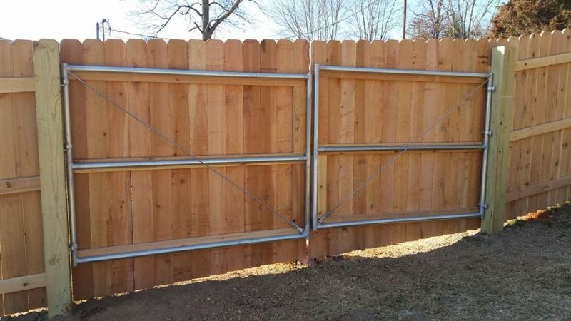 wood fencing easter fence