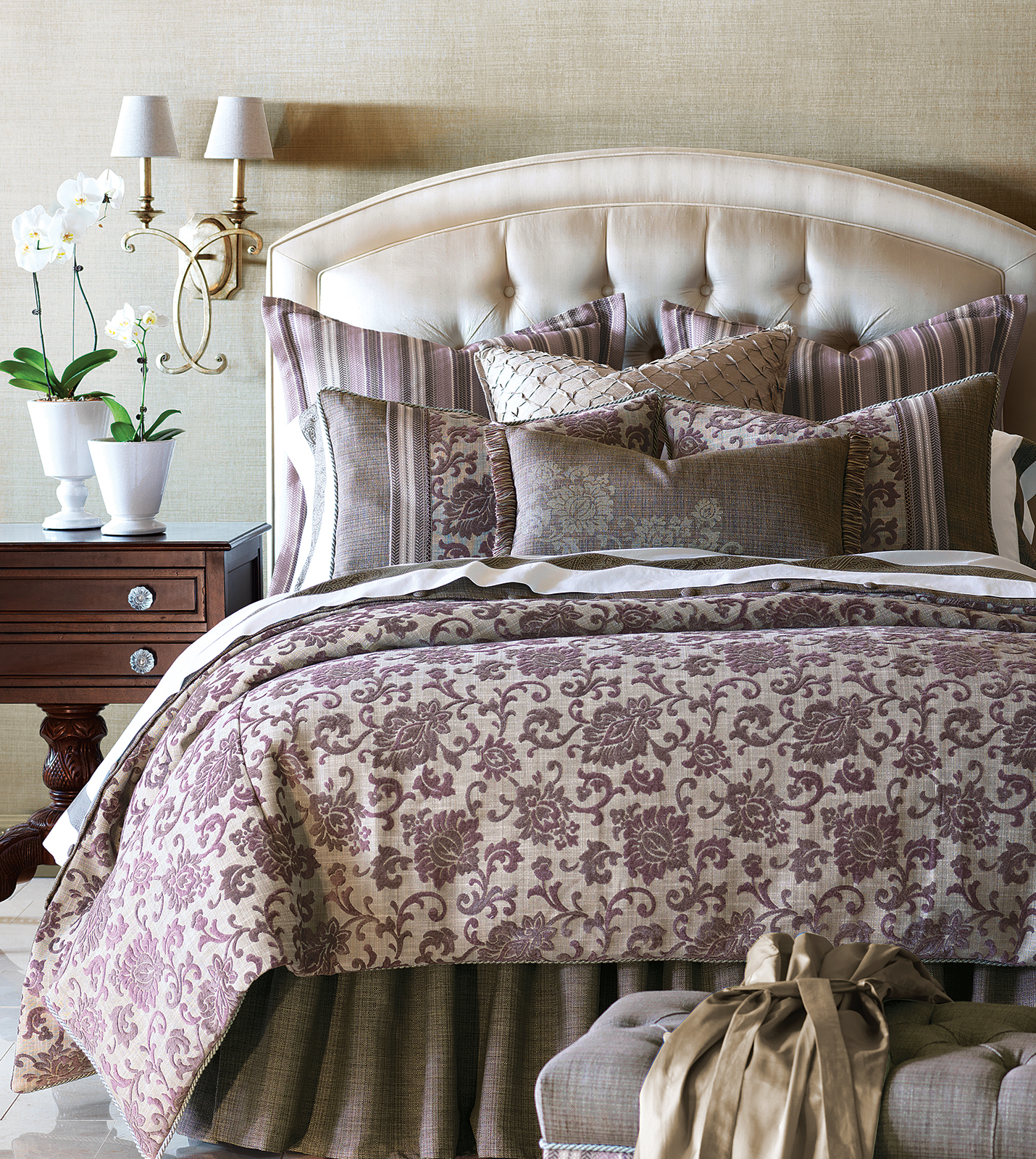 Luxury Bedding by Eastern Accents  Mica Collection