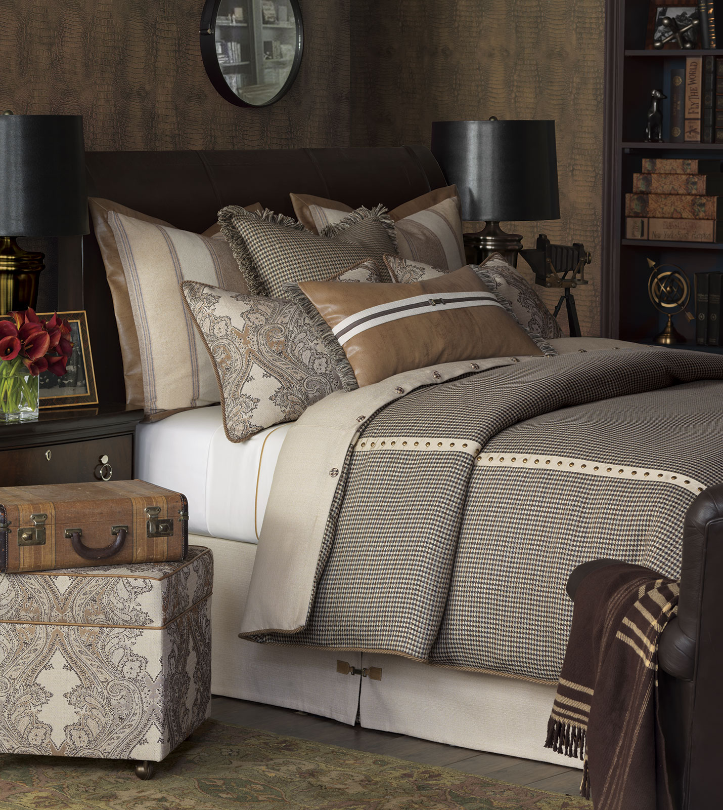 Luxury Bedding by Eastern Accents  Aiden Collection