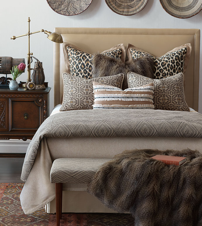Luxury Bedding by Eastern Accents  Naya Collection