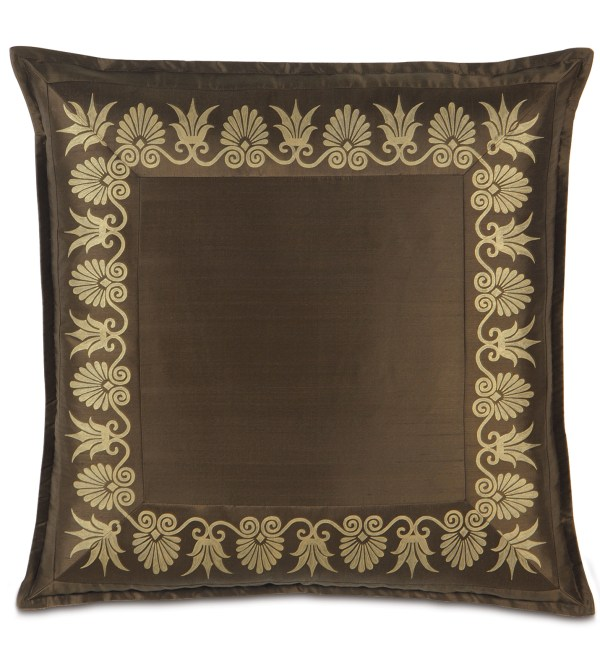 Luxury Bedding Eastern Accents - Anthemion Brown Gold