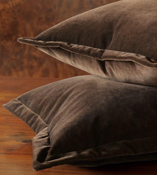 Luxury Bedding Eastern Accents - Jackson Brown Euro Sham