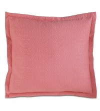 Luxury Bedding by Eastern Accents - Mea Coral Euro Sham