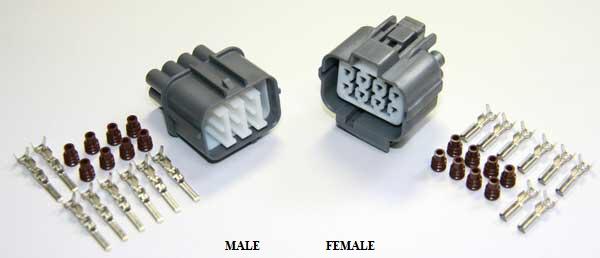 99 civic ecu wiring diagram pontiac vibe stereo 92 00 honda acura engine sensor connector guide tech forum discussion