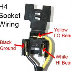 Headlight Socket Wiring Diagram 2006 Ford Econoline Radio Schematic Installation Universal H4 Wiring2