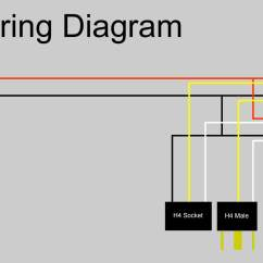 H4 Halogen Bulb Wiring Diagram 1972 Chevy C10 Ignition Sealed Beam To Conversion Free Engine