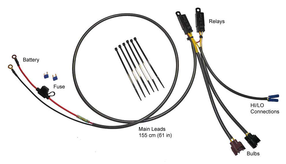 eastern beaver wiring harness