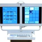 New articulating LED flat screen monitors