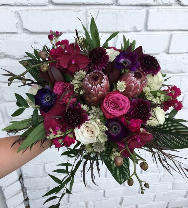 gothic flowers just in