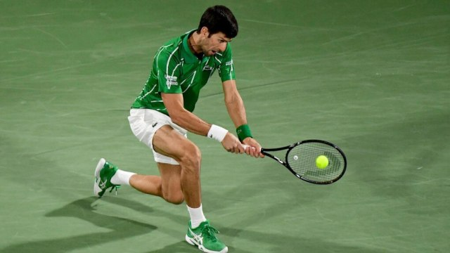 Djokovic must pass the Monfils obstacle to go to the final in Dubai