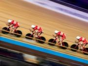 Track Worlds Denmark improves world record in team pursuit for the second time e1582771040171