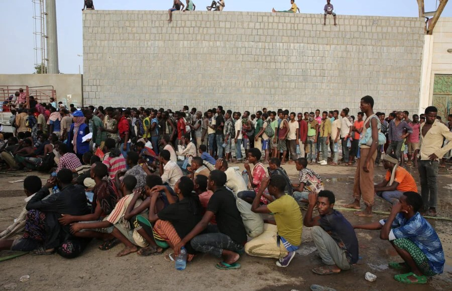 Yemen entry of 138000 migrants and refugees in 2019 scaled e1582042690401