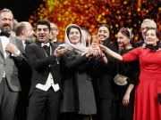 banned director produced iranian film wins the top award in berlin