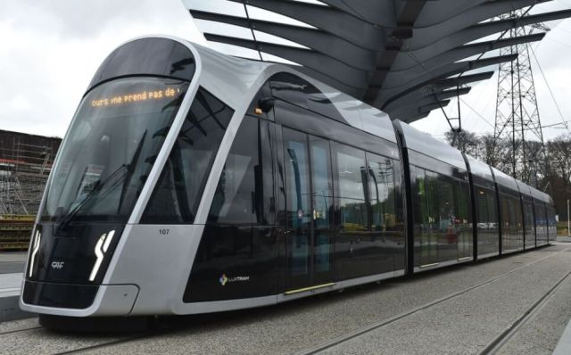from now on free travel by bus and train in luxembourg