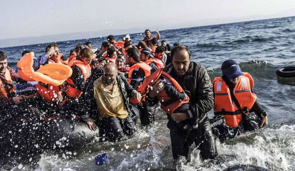 politician s union rejects quotas for refugees on greek border