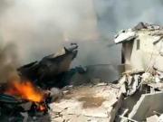 PIA plane crashed near Karachi port
