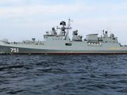"""Russian frigate repelled the attack of """"pirates"""" in the Indian Ocean"""