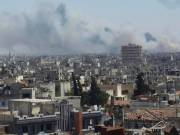 Syria: Explosions at a weapons depot in Homs