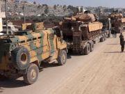Syria: Turkish military equipment entered Idlib