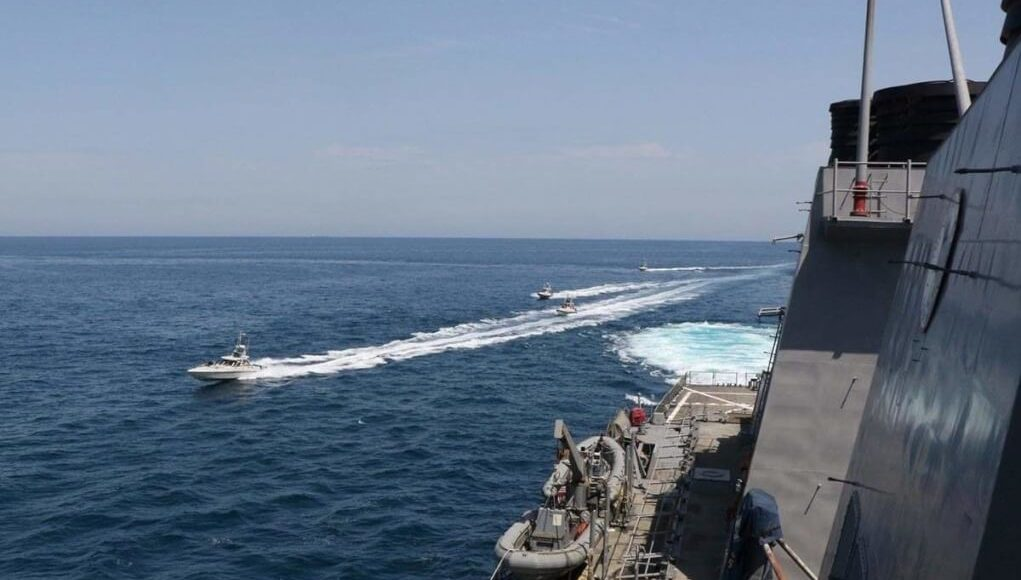 US moving ships from Pursian Gulf