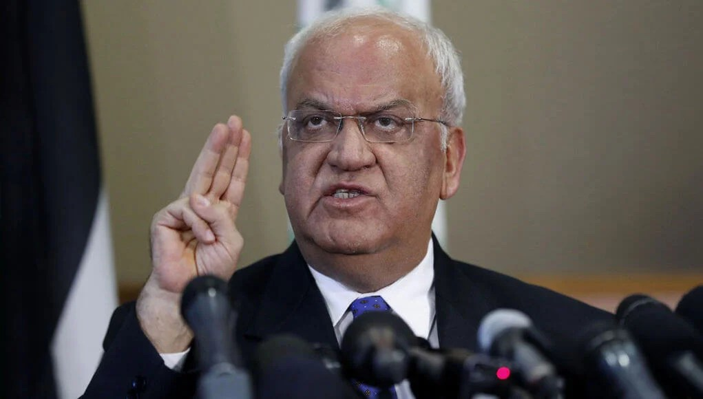 Palestine News: Saeb Erekat Palestinian representative in UNO, arab countries to support Palestine with 100 million each month