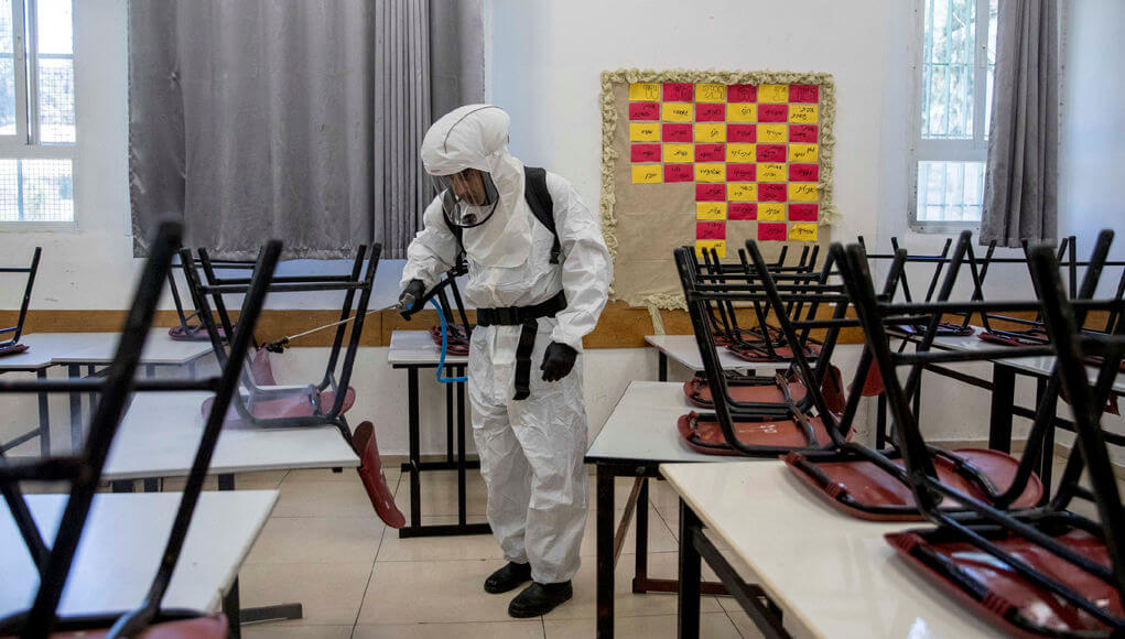 Israel closes schools again after confirming more than 300 COVID-19 infections
