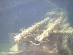 The German bait ship Karlsruhe found