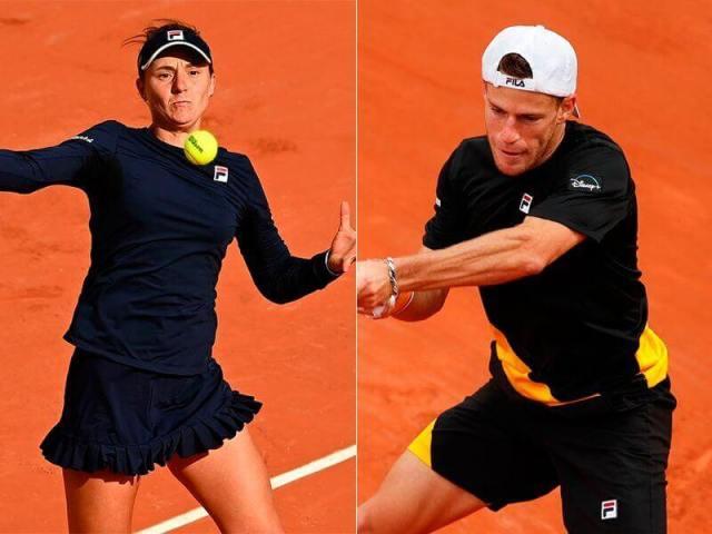 Nadia Podoroska and Diego Schwartzman go for the semifinals of Roland Garros