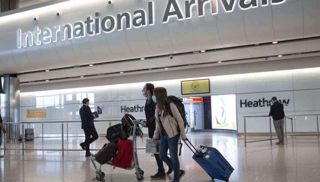 Britain made COVID test mandatory for international travelers