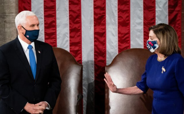 Pelosi wants to ask Pence to remove Trump
