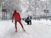 Madrid hasn't had this much snow since 1963, look at what the city looks like