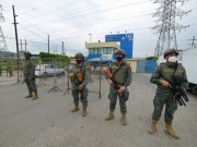 More than 50 people were killed during riots in three prisons in Ecuador