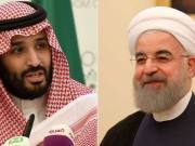 """Mohammed bin Salman: The Saudi crown prince says that his country wants to establish """"good and distinguished"""" relations with Iran"""