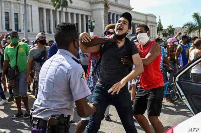 FILES-CUBA-POLITICS-DEMONSTRATION-DETAINEE