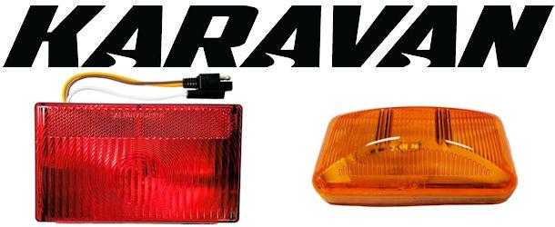 karavan trailer lights and wiring