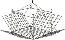 Foxy-Mate Topless Crab Trap Model #120T, CASE (12))