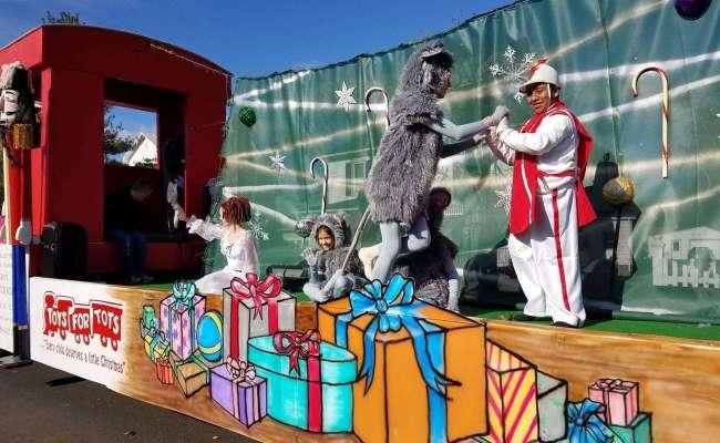 Toys For Tots Parade Winner Granite Memorials