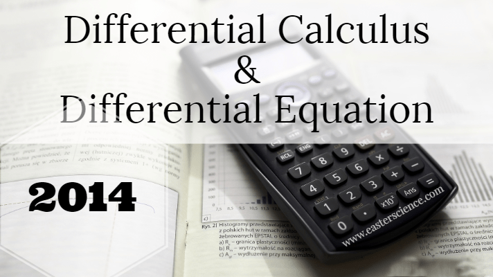 differential-calculus-and-differential-equation-2014