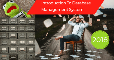 Introduction To Database Management System-2018