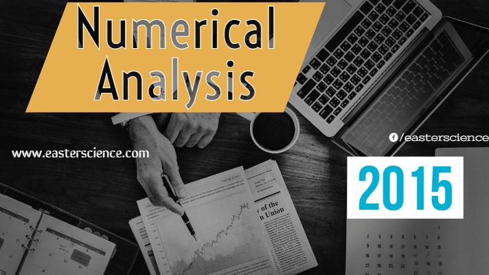 Numerical Analysis-2015