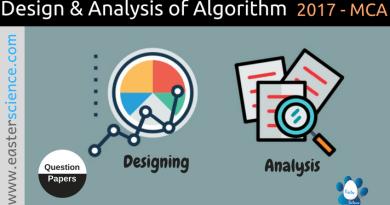 Design-and-analysis-of-algorithm-2017-MCA