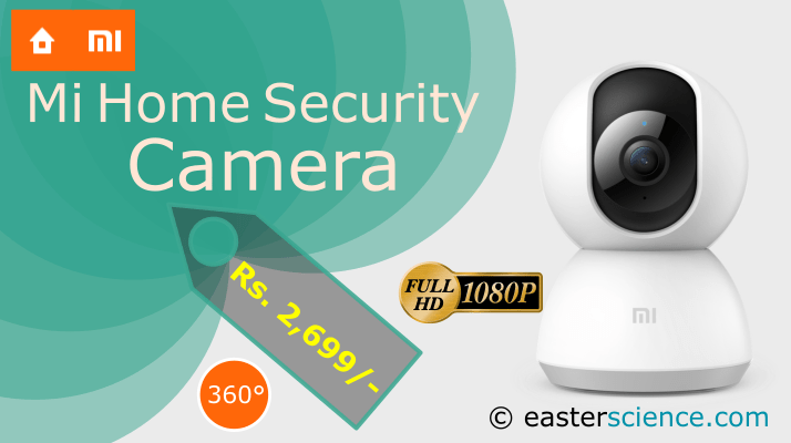 Xiaomi Mi Home Security Camera 360° 1080P in India at just