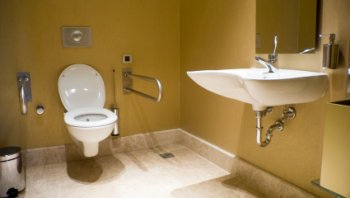 Merveilleux Wheelchair Accessible Toilet