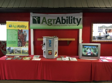 AgrAbility booth