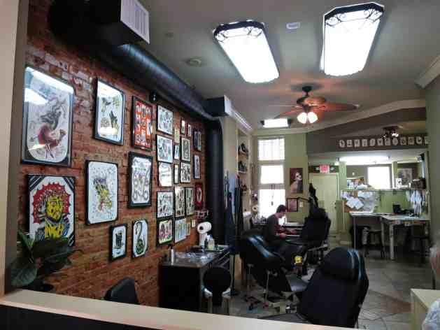 EastFallsLocal 3-9 Frequency Tattoo shop interior survey