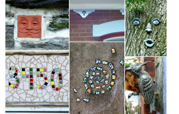 Eastfallslocal art around neigborhood