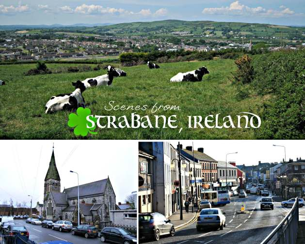 EastFallsLocal collage scenes from Strabane Ireland