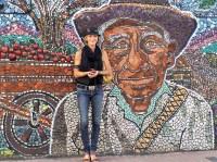 Local Artist Adds Magic to Mexican Town  EastFallsLocal