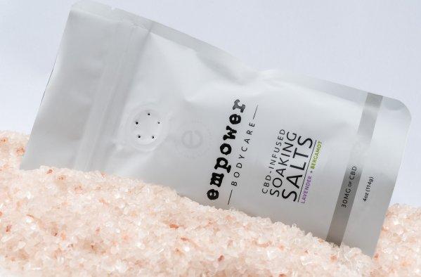 CBD Infused Soaking Salts